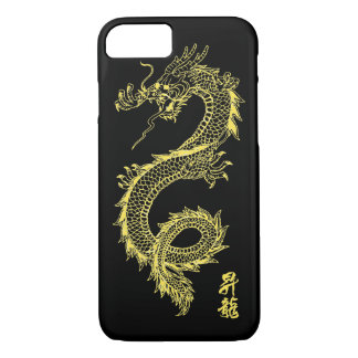 iPhone 7 Golden Dragon Phone Case