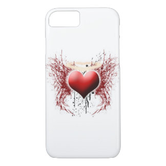 iPhone 7 heart of an angel phone case