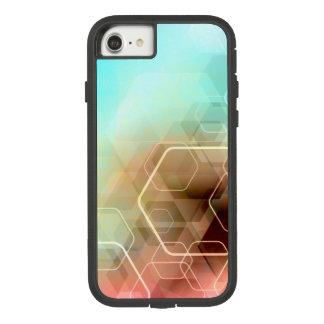 iPhone 7 Hexagonal Rainbow Pattern Case