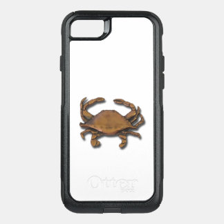 iPhone 7 OtterBox Nautical Copper Crab on White