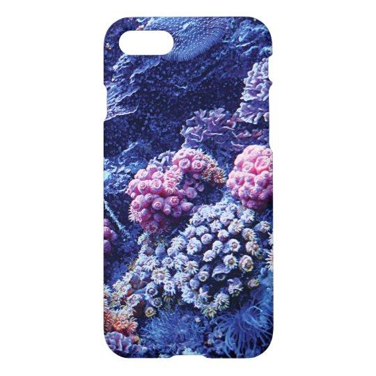 iPhone 7 Phone Case, Ocean Coral iPhone 8/7 Case