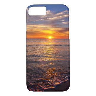 iPhone 7 phone case romantic sunset in Florida