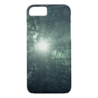 Iphone 7 plus Case  lens flare jungle sunlight