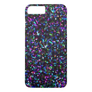 iPhone 7 Plus Case Mosaic Sparkley Texture