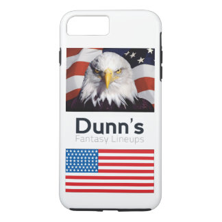 iPhone 7 plus case patriotic (white)