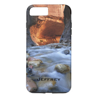 iPhone 7 Plus Case, Personalized, Zion Narrows iPhone 7 Plus Case
