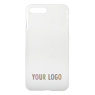 iPhone 7 Plus Clearly Deflector Case Company Logo
