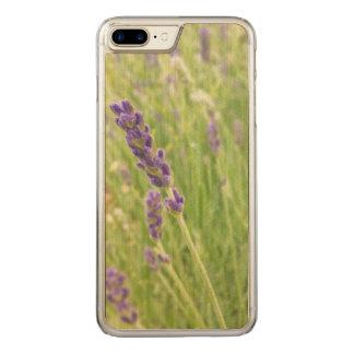 iPhone 7 Plus Maple Wood Case - Lavender