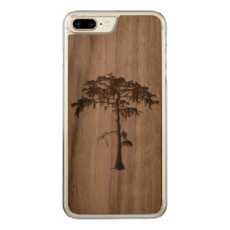 Iphone 7 plus tree design. carved iPhone 8 plus/7 plus case