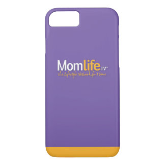 iPhone 7 Plus with MomLifeTV logo iPhone 8/7 Case