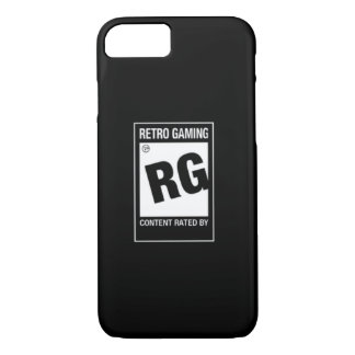 iPhone 7 - Rated RG For Retro Gaming Case