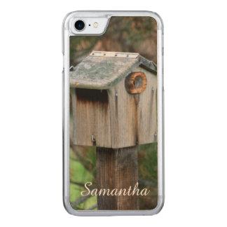 Iphone 7 rustic birdhouse phone case