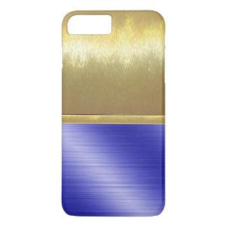 iPhone 7 Slim Shell Gold Design Case