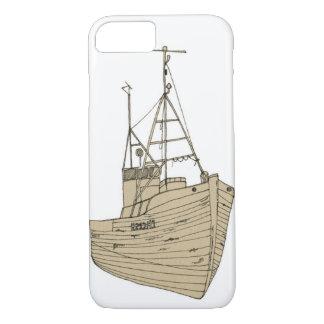 iPhone 7 Slim Wooden Boat Case