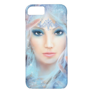 iPhone 7,  Snow queen. Winter beautiful woman. iPhone 7 Case