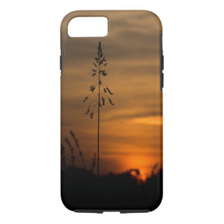 iPhone 7 sunset silhouette case