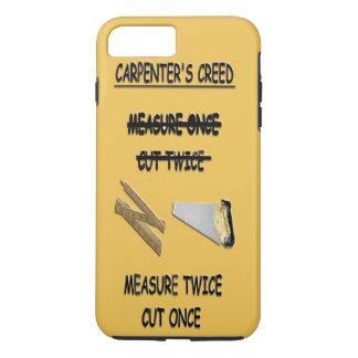 iPhone 7 Tough Case Carpenter's Creed