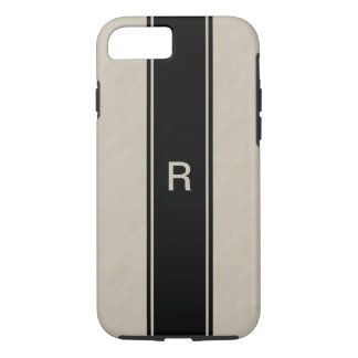iphone 7 Tough case for men Tan Monogram