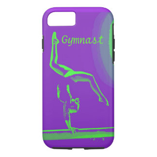 iPhone 7 tough cover Gymnast design
