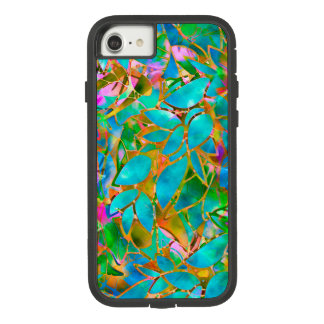iPhone 7 Tough Xtreme Case Floral Stained Glass