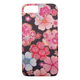 iPhone 7: Women's Japanese Kimono Fabric Pattern iPhone 7 Case