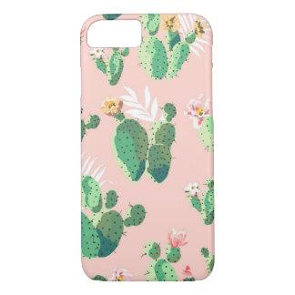 iPhone 8/7 Pink Cactus Succulent Case