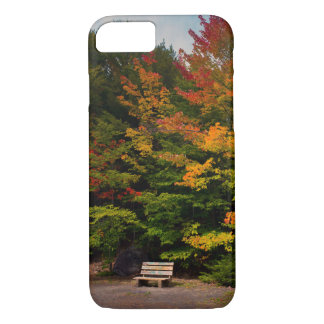 iPhone 8 Case - Bench with trees in background