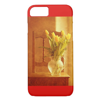 iPhone 8 Case - Tulip Bouquet on a chair