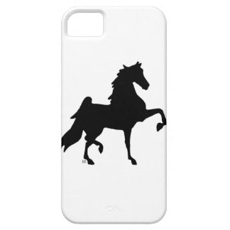 Iphone Barely there Case / Saddlebred Silhouette