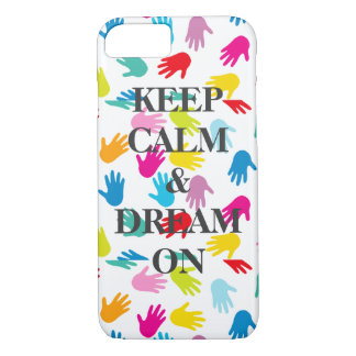 iPhone Barely There KEEP CALM DREAM ON iPhone 7 Case