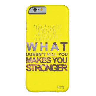 """iPhone Case 6/6S """"Stronger"""" Yellow Heevs™"""