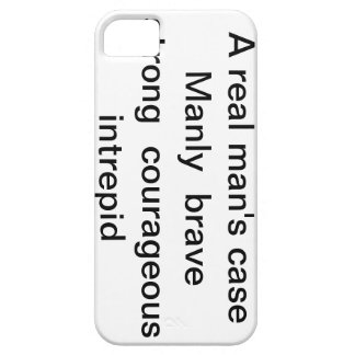 """iphone case """"A real man's case """""""