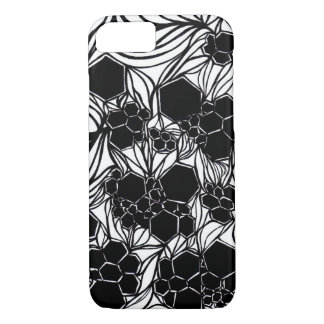 iPhone Case - Black and White - Abstract Design