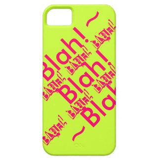 IPhone Case Blah! Blah! Blah! iPhone 5 Cover