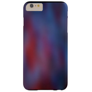iphone case blue red abstract art pattern barely there iPhone 6 plus case