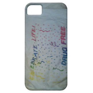 Iphone case celebrate life drug free iPhone 5 cover