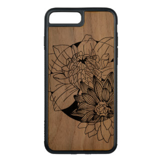 iPhone case flower design