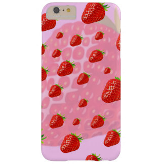 Iphone case, fruits, strawberries. barely there iPhone 6 plus case