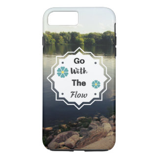 iPhone Case Go with the flow