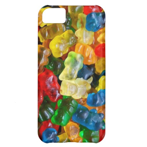 iphone case, gummy bears cover for iPhone 5C