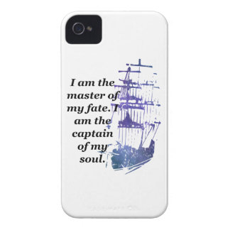 iPhone case I am the master of my fate