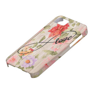 iPhone Case iPhone 6 Case Flower Wood Floral Love
