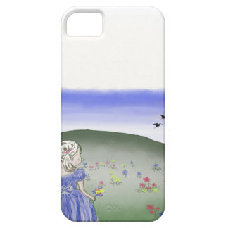iPhone case, little girl, drawing iPhone 5 Cases