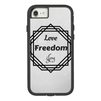 iPhone Case Love Freedom Joy