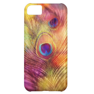 iphone case - peacock feather