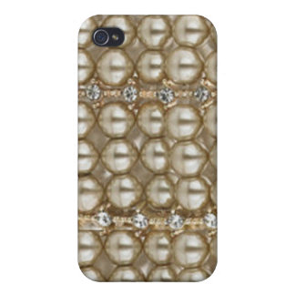 Iphone Case Pearls and Diamonds iPhone 4 Cases