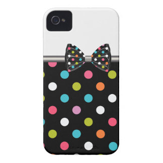 iPhone Case Polka Dots Bow