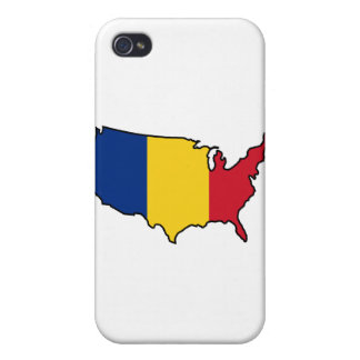 iPhone Case: Romanian in USA Cover For iPhone 4