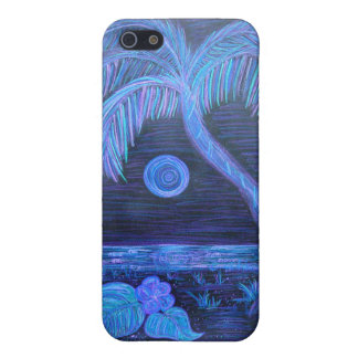iPhone case -Tropical Moonlight iPhone 5/5S Cases