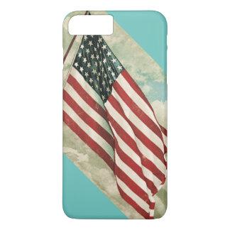 iphone case vintage American Flag